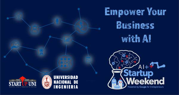 Global Startup Weekend Lima Artificial Intelligence INICTEL UNI Av. San Luis 1771, San Borja Lima, Lima